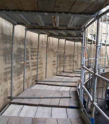 Risanamento muri bacini serbatoi