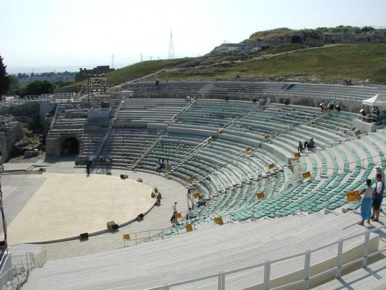 Attrezzamento Teatro Greco SR